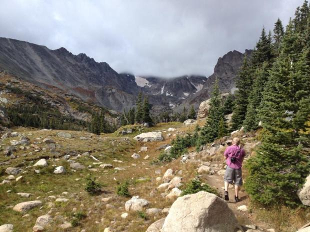 Lake Isabelle Trail in Indian Peaks Wilderness Area