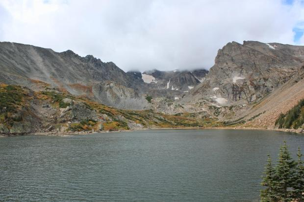 Lake Isabelle in Indian Peaks Wilderness