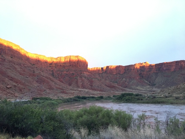 Big Bend Campground Colorado River Moab Utah